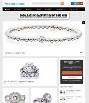 Established Jewellery Store Online Business Website For Sale Mobile Friendly