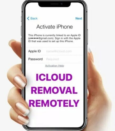 ICloud Unlock Removal Service REMOTELY For All Iphone Models X 10 Min-2 Days  - $59.99