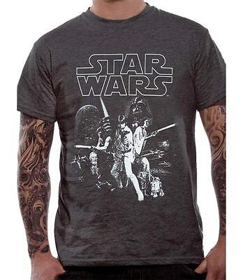 Star Wars - A New Hope Poster T Shirt Size:S - NEW & OFFICIAL