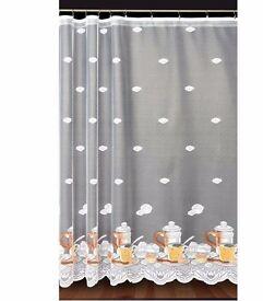 LOVELY net curtains, 150x305cm, BRAND NEW