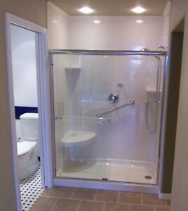 Shower Walls ,Shower Bases , Vanity Tops and More Stratford Kitchener Area image 1