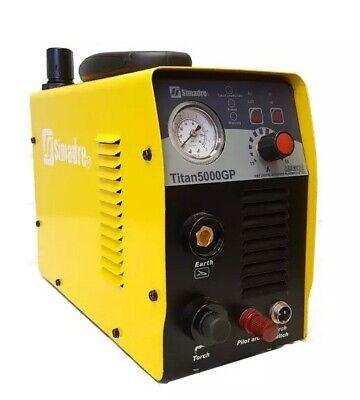 Plasma Cutter 1 Cut Pilot Arc 50amp 110v220v Digital Igbt Simadre Ct5000gp
