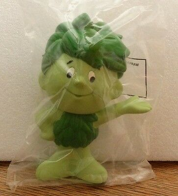 "Sealed SPROUT Jolly Green Giant Rubber Vinyl Toy Doll 6.5"" 1996"