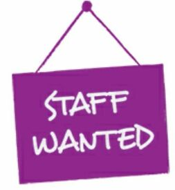 Fastfood Takeaway staff required