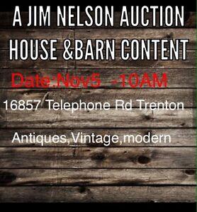 Auction Nov 5 -10Am