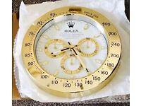 Rolex wall clock, Call 07379-759528, Best Quality