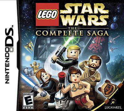 Lego Star Wars  The Complete Saga   Nintendo Ds Game