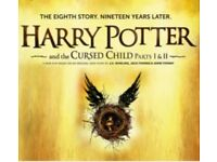 Harry Potter and the cursed child play tickets part 1 & 2 - Grand Circle