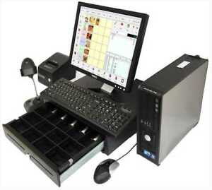 Point of Sale System  POS  Touch Screen Digital TV Menu Board