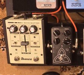 Ibanez Echo Shifter analog delay guitar pedal