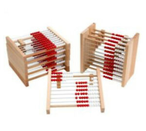 Wooden Rekenrek / Abacus for Math