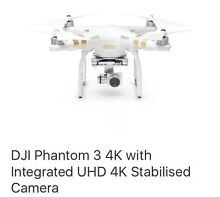 Brand New DJI Phantom 3 4K with Integrated UHD 4K Stabilised Camera Campsie Canterbury Area Preview