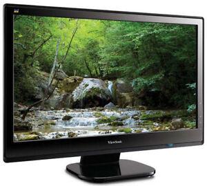 """Ecran DEL 22"""" ViewSonic (HDMI et VGA)"""
