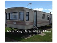 Pet friendly 8 berth caravan to hire on Parkdean Resorts Ty Mawr, North Wales