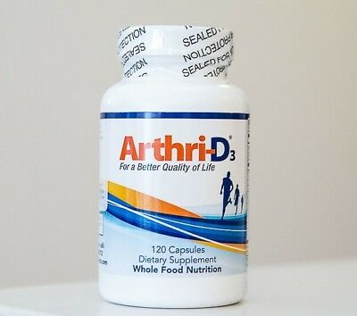 All Natural Arthri-D3 For a Better Quality Life Joint Pain Relief Arthri 120