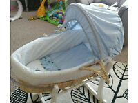 Mother care space moses basket and stand