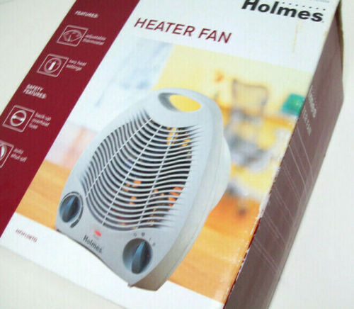 Holmes Adjustable Thermostat Heater Fan New
