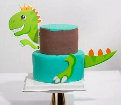 "Tortentopper CupCake Topper ""Dinosaurier"" Kuchentopper Deko Geburtstag"