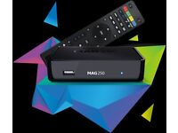 MAG 250 IPTV BOX 12 MONTHS WARRANTY