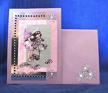 Heliotrope Fairy - Purple Pearlised Birthday Card and Envelope Clifton Beach Cairns City Preview