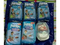 Toilet training pants size M and L