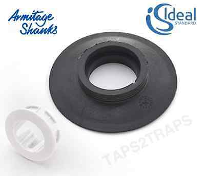 20 x ARMITAGE IDEAL STANDARD DUAL FLUSH VALVE DIAPHRAGM SEAL & CLIP SV01967