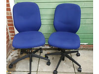 2 x used office chairs - Verco - £30