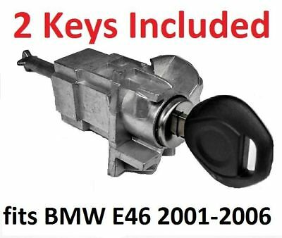 fits BMW E46 3 SERIES LEFT DRIVER DOOR LOCK CYLINDER BARREL ASSEMBLY w/ 2 - 3 Series 2 Door