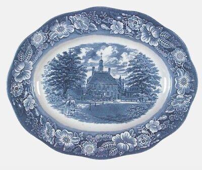 Liberty Blue Dinnerware - Vtg Liberty Blue 12
