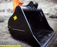 HEAVY EQUIPMENT ATTACHMENTS FOR RENT & SALE (GRAPPLES, BUCKETS)