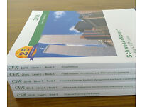 2016 CFA Level 1 Schweser Notes PRINT EDITION 2016 Full Set I