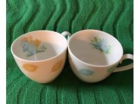 Moomin valley tea cups mugs. Collectable.finland. China. Kitsch.