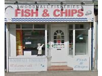 Fish and chip shop TO LET RENT FREE PERIOD