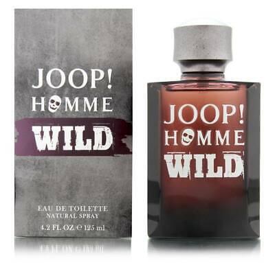 JOOP! HOMME WILD 125ML EAU DE TOILETTE SPRAY BRAND NEW & SEALED