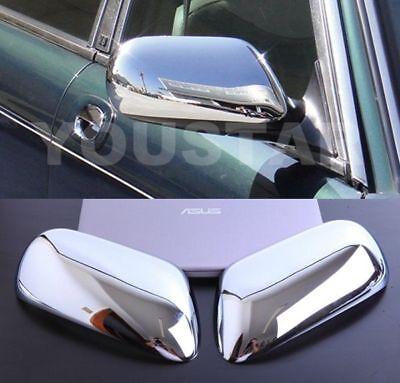FAST EMS X2 CHROME Door Mirror Covers for JAGUAR XJ Daimler Vanden Plas & XK XK8