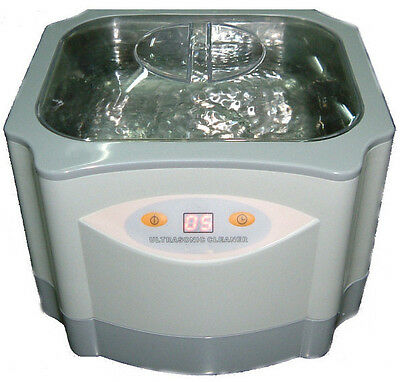 Used, NEW PRO LARGE 60 Watts 1.4 Liters ULTRASONIC ULTRASOUND CLEANER JEWELRY for sale  Shipping to Canada