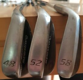 Golf Wedges - Set of 3 MD wedges 48,52 and 58