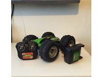 Tyco Rebound Remote Control Car Charger & Controller RC Green Monster Truck