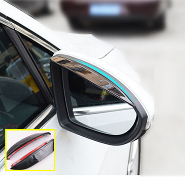 FIT FOR 2011- ACCENT RB SIDE DOOR WING MIRROR RAIN GUARD VISOR SHIELD COVER VENT