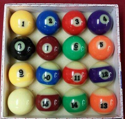 NEW Glow In The Dark Pool Ball Billiard Set 2-1/4