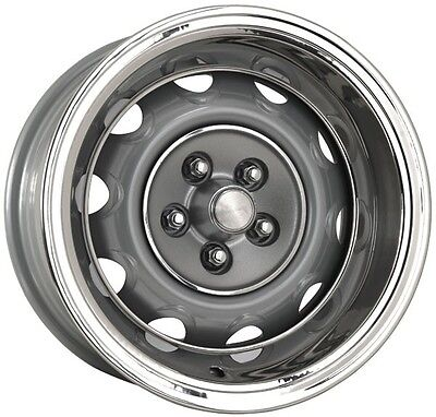 15x7  MOPAR RALLY WHEELS, CAPS & RINGS 4 1/2 bolt pattern CHARGER CUDA