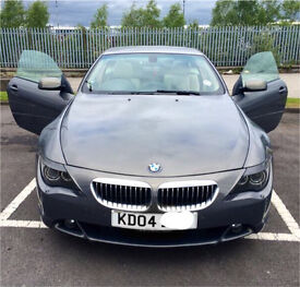 BMW 645CI V8 auto panoramic **Reduced**
