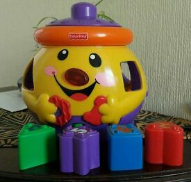 Fisher Price Cookie Jar Musical Toy Shape Sorter