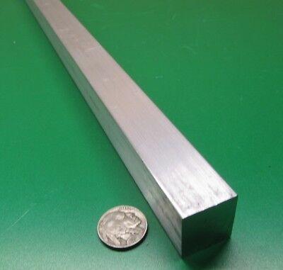7075 Aluminum Square Bar 1.0 Thick X 1.00 Width X 36 Length