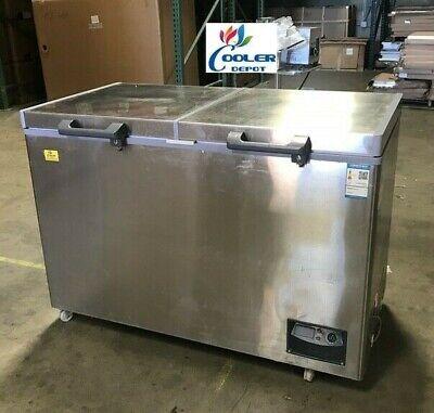 New Medical Science Lab Hospital Deep Chest Freezer -40c Low Temperature 358l
