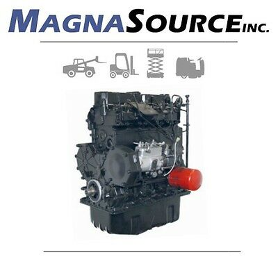 Mitsubishi S4s Forklift Engine - Diesel - Cat - 13 Month Warranty - Magna Source