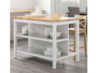 IKEA Kitchen Island - White