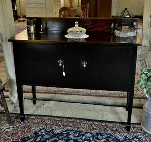 Vintage Sideboard with Key