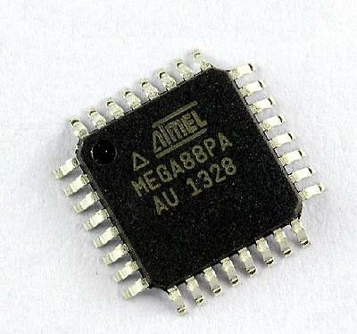 10pcs Mega88pa-au Atmega88pa-au Qfp-32 Atmega88 8-bit Mit Qfp32 Mcu