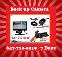 Rearview Back Up Camera Complete Kit with 4.3 inch Monitor $80★